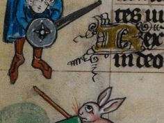 18. These giant rabbits were formidable foes, it seems.