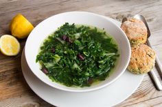 Mixed Greens Soup.