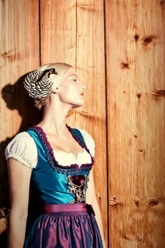 Svenja Jander 2012 German Traditional Dress Tracht Dirndl