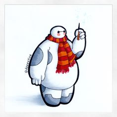 A few people have asked for a Baymax/Harry Potter crossover for quite a while, so here it is! it was really fun to draw Baymax again If you have any suggestions or requests on what to draw Baymax in/as/with then please drop in a comment!