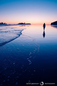 Tofino, Vancouver Island, Canada - stunning sunsets where the trees come up to the ocean edge. Makes for some gorgeous and memorable evening shots and lovely walks to boot!