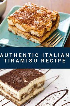 The Best Italian Tiramisu Recipe: The Authentic Italian Dessert Tiramisu is one of the most famous Italian desserts around the world. Learn the secrets of making tiramisu at home. Authentic Italian Tiramisu Recipe, Classic Tiramisu Recipe, Authentic Italian Desserts, Traditional Tiramisu Recipe, Original Tiramisu Recipe, Sweet Recipes, Cake Recipes, Dessert Recipes, Picnic Recipes