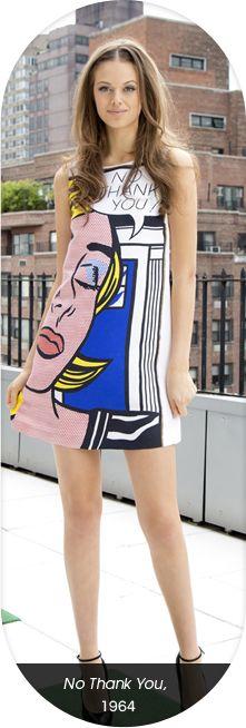 30 Ideas for pop art costume clothes roy lichtenstein Sonia Delaunay, Piet Mondrian, Pop Art Fashion, Fashion Design, Pop Art Costume, Modern Art Tattoos, Comic Bubble, Fendi, Roy Lichtenstein