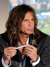 American Idol  Judge....Stephen Tyler last year back to singing .......