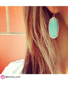 Elle Oval Earrings In Chalcedony Kendra Scott Jewelry