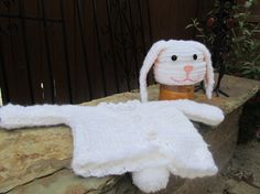 Baby Bunny White Sweater and Hat Set by clriegs on Etsy, $45.00
