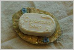 Gardener's soap dish