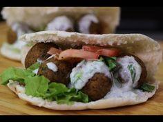 Wegetariański kebab-Falafel - YouTube