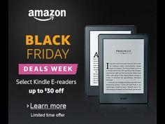 Amazon Black Friday 2016 Deals: Echo And Echo Dot Discounts, Kindle And ... Amazon Black Friday, Black Friday Deals, New Romance Books, Kindle, Audiobooks, Learning, Youtube, Blog