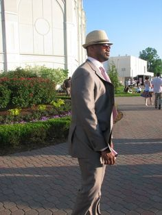 Client on his way to the Kentucky Derby