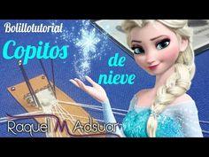 Copitos de Nieve. Encaje de Bolillos. Bolillotutoriales Raquel M. Adsuar - YouTube