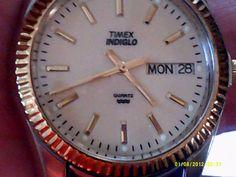 VINTAGE TIMEX MENS  INDIGLO #Timex #Dress