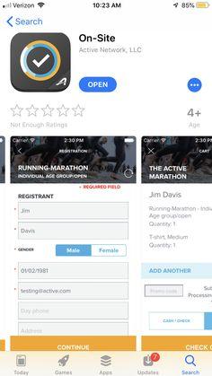 Active Network, Jim Davis, Marathon Running, Enough Is Enough, Ads
