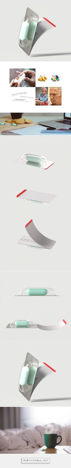 Get well sooner with Fortune Pill - Packaging design by Jeongdae Kim - http://www.packagingoftheworld.com/2017/01/fortune-pill-student-project.html