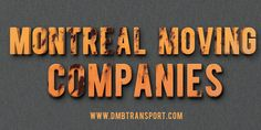 A Montreal moving company provides an array of customized services related to your needs and requirements. Browse this site http://dmbmoving.com/fr/ for more information on Montreal moving. While packing, they use appropriate packing materials so that your valuable belongings can remain undamaged. They care utmost care of your goods while packing and moving. follow us…