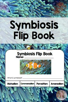Symbiosis flip book for interactive notebooks by Science Rocks #symbiosis