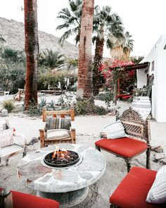 Fireside moments, present within our space, connecting with those we love. Heaven On Earth, Christmas 2019, Palm Springs, Our Love, Exterior Design, Presents, California, Patio, In This Moment
