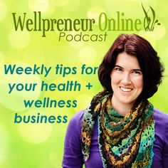 The WellpreneurOnline Podcast teaches wellness entrepreneurs how to grow a healthy business – online.  Every week I interview successful wellness entrepreneurs (like yoga teachers, health coaches, personal trainers etc.) about how they've grown their business online.  When I was training as a health coach I was constantly searching for examples of successful coaches, and couldn't find what I was looking for – so I created it!