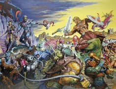 The Art of Earl Norem and the Masters of the Universe (More AMAZING art linked)