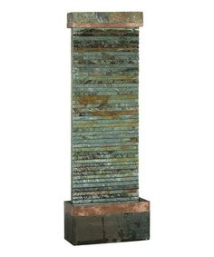 Take a look at this Copper Boann Slate Rock Floor Fountain by Design Craft on #zulily today! $300 !!
