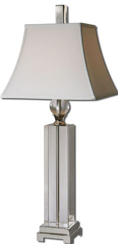 Uttermost Sapinero Crystal Table Lamp