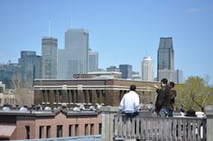 Our terrace view Montreal Best Cities, Willis Tower, Quebec, Montreal, Terrace, Canada, World, City, Building