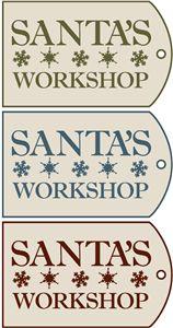 CHRISTMAS, SANTA'S WORKSHOP