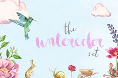 Free Watercolor Image Set - Commercial Use Included / The Hungry JPEG