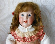 SFBJ French Character Bisque Head Toddler