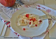 Insalata di finocchi e melagrana #salad #fennel #pomegranate