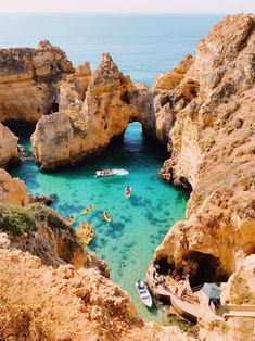 Are you visiting Lagos on the Portuguese Algarve coast? Then check out our list of best Lagos Portugal Beaches to explore! Lagos Portugal Beach, Visit Portugal, Best Beaches In Portugal, Beautiful Places To Travel, Cool Places To Visit, Places To Go, Travel List, Travel Goals, Travel Hacks