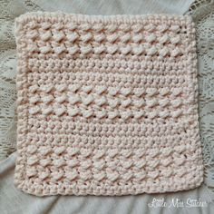 Little Miss Stitcher: 5 Free Crochet Dishcloth Patterns                                                                                                                                                                                 More