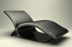carbon chair by Aeron Tozier