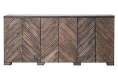 La Jolla Sideboard on OneKingsLane.com, matches the coffee table, another good idea to tackle one day!