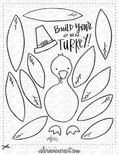 image regarding Printable Thanksgiving Craft identified as 16 Great Thanksgiving Crafts for Church visuals within just 2013