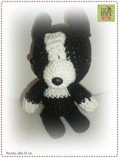 Perrito  Face Punto Ines - crochet