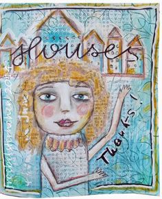 **ART*JOURNAL*JOURNEY*: HOUSES / Häuser - June 2014