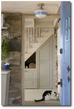 Stone Interiors - don't forget to reinforce floor supports if adding stone to the interior of your home.