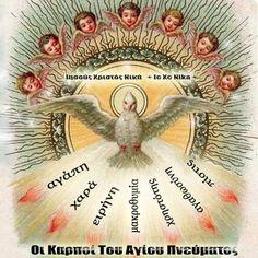 Name Day, Holy Spirit, Decoupage, Christmas Bulbs, Holiday Decor, Orthodox Christianity, Home Decor, Art, Facebook
