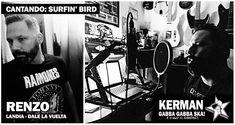 RENZO nos trae la locura con SURFIN' BIRD en nuestro homenaje a @ramones GABBA GABBA SKA. Es el corte Nº5 de este disco.  RENZO de @landiaoficial  banda de punk rock de Madrid y cantante y guitarra además de la mítica banda punkrocker de Perú DALE LA VUELTA banda que cosechó grandes éxitos entre 1998 y 2009. Recientemente la banda decidió reunirse para un único concierto en el que metieron a más de 25.000 personas en el Estadio Nacional de Perú y como no también compañeros de fiestas de…
