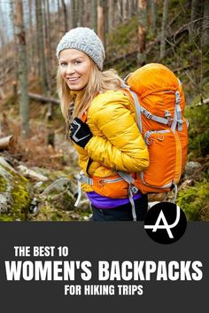 Best Hiking Backpacks for Women - Best Hiking Backpacks – Packing Tips For Backpacking – What To Pack For Hiking – Hiking Gear For Women, Men and Kids via The Adventure Junkies  | Outdoor Activities. Hiking, Scuba Diving And More