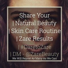 Send us your #naturalbeauty #skincare #routine and #results photos we will #share them all and give you a hand gaining #followers and #promoting your #style