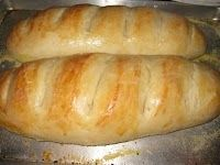EASY Homemade French Bread for about $0.25 a loaf- make 4 loaves in an hour