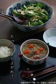 【一汁一菜】お味噌汁中心の食事:鶏スープ