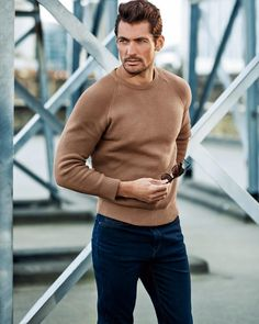 """New for @marksandspencer #AW15. Ph: Tomo Brejc with @larrykinghair @theproductionfactory @rj_pierce"""