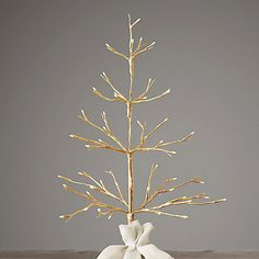 Starlit Tree Collection Gold