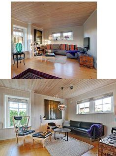 Stuen - før og efter