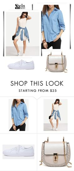 """""""Shein 4"""" by fashion-addict35 ❤ liked on Polyvore featuring MustHave, Sheinside, springvibes and shein"""