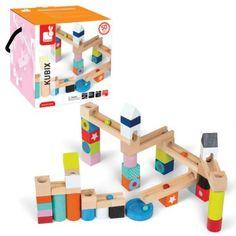 Juego de construcción tobogán con bolas kubix 50 piezas