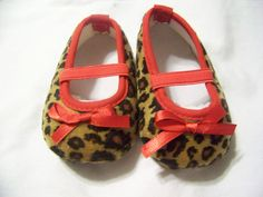 Red trim leopard shoe $8.00 at www.belladees.com, but i have no girls to wear them.